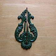 Vintage Harp Letter Files Wall Mount  New Old Stock
