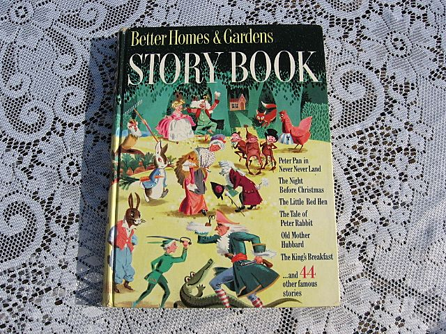 1950 Better Homes and Gardens Storybook Revised First Edition With Little Black Sambo