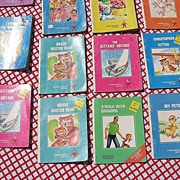 SALE Rand McNally Tiny Elf Book Set of Sixteen