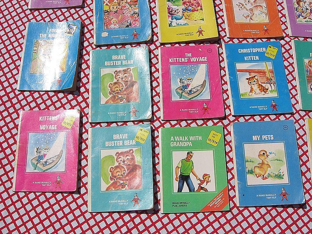 Rand McNally Tiny Elf Book Set of Sixteen