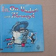 """SALE Whitman Tell A Tale """"In, On, Under and Through"""" First Edition"""