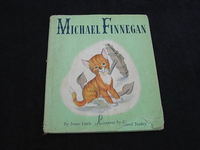 "1946 ""Michael Finnegan"" First Edition Children Book"