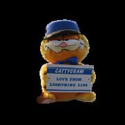 "SALE New 1978 Plush ""Garfield Messenger Of Love"""