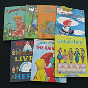 Vintage Wonder Books Children Book Set