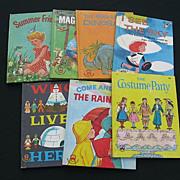 SALE Vintage Wonder Books Children Book Set