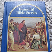 SALE 1964 Beautiful Bible Stories Children Book
