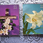 SALE 1950's Easter Ideals Publications Set of Two