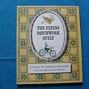 """SALE 1965 First Edition """"The Flying Patchwork Quilt"""" Children Book"""