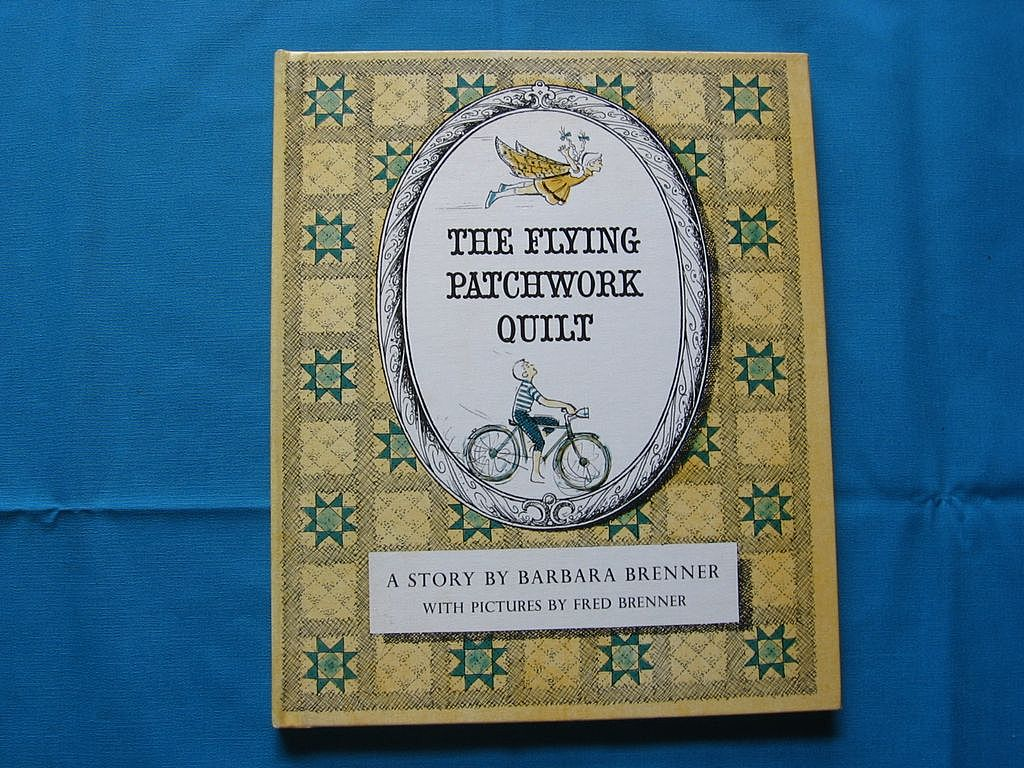 """1965 First Edition """"The Flying Patchwork Quilt"""" Children Book"""