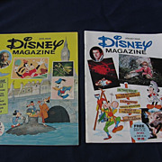 1970's Walt Disney Children Magazine Set
