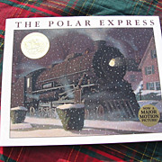 "SALE Classic 1985 Caldecott Medal ""The Polar Express"" Children Book"