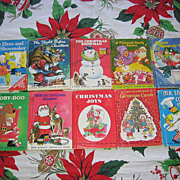 SALE Rand Mcnally Junior Elf Christmas Book Set Of Ten