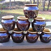 Heinz 57 Small Bean Pot Set Of Eight