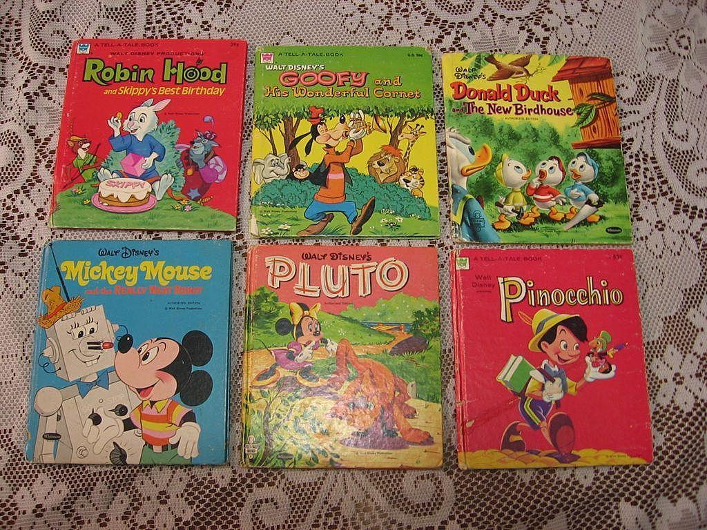 Walt Disney Whitman Tell A Tale Book Set