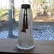 SALE 1940's Wrisley Perfume Bottle With Tassel