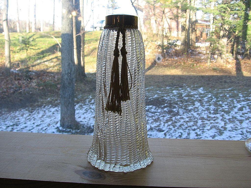 1940's Wrisley Perfume Bottle With Tassel