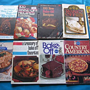 Pillsbury Cookbooks Set of Twelve