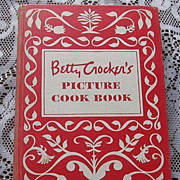 SALE First Edition Second Printing 1950 Betty Crocker's Picture Cook Book