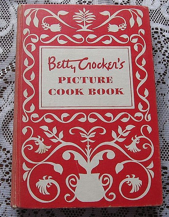 First Edition Second Printing 1950 Betty Crocker's Picture Cook Book