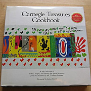 SALE 1984 Carnegie Treasures Cookbook