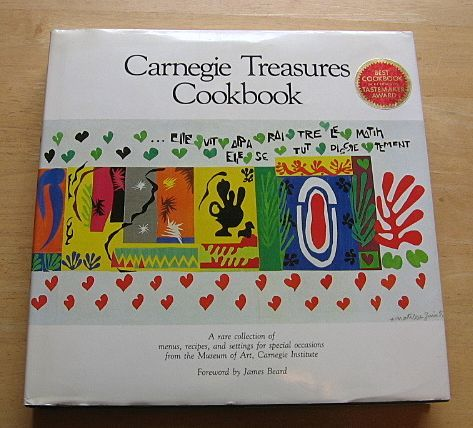 1984 Carnegie Treasures Cookbook