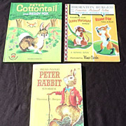 SALE 1950's Thornton Burgess Children Book Set