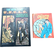 "SALE 1967 Whitman ""Man From Uncle"" Book Set"