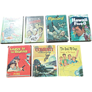 SALE Whitman 1960's Television Juvenile Book Set Of Eight Books