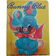 "SALE Hard To Find ""Bunny Blue"" Rand McNally Junior Elf Children Book"