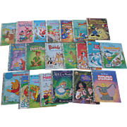 SALE Walt Disney Little Golden Book Set