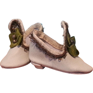 Elegant Heeled Slippers for Small French Fashion