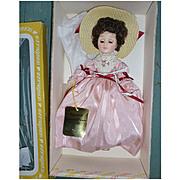 Effanbee Grandes Dames 1158 Amanda 11 inch Doll MIB Vintage 1980s
