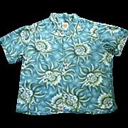 Duke Kahanamoku Hawaiian Aloha Surfer Shirt  XL