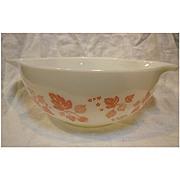 Pyrex Pink Gooseberry 2 1/2 Qt Cinderella Mixing Bowl 443