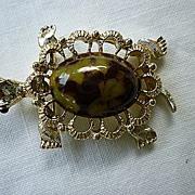 Gerry's Turtle Terrapin Pin Brooch