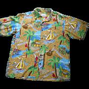 SOLD Reyn Spooner Jimmy Buffet Margaritaville Hawaiian Shirt
