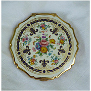 SOLD Stratton English Floral Compact