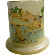 SOLD Vintage Risque Kane Wahine Honi Honi Tiki Mug Trader Vic's 1963