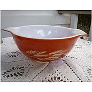 Pyrex Autumn Harvest Pattern Cinderella Mixing Bowl 442