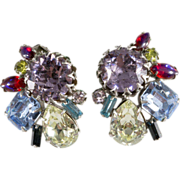 Designer Earrings w/ Dragon's Breath Rhinestones