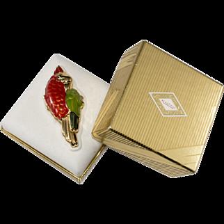 Estee Lauder Red Parrot Solid Perfume w/ Box