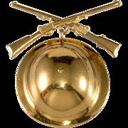 Sweetheart Pin Infantry Rifles w/ Doughboy Helmet