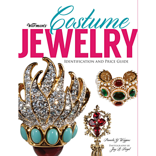 Warman's Costume Jewelry Book - Autographed Copy