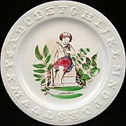 SALE ABC Plate ~ January ~ 1850