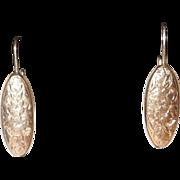 Victorian Cufflink Earrings