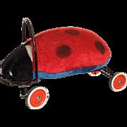 C. 1950's Steiff Riding Ladybug
