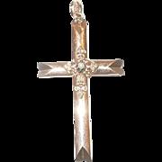 SOLD Vintage Victorian 10K Gold Cross