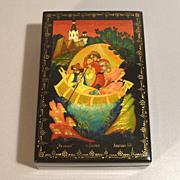 Russian Lacquer Box - Sadko Fairytale - Lipeck - Lipetsk Oblast, Russia