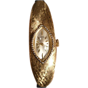 Lucein Piccard 14k Yellow Gold Ladies Wristwatch