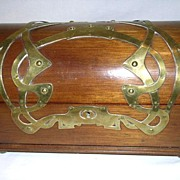All Original Art Nouveau Jewelry Casket